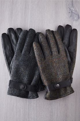 Gent's Harris Tweed Gloves