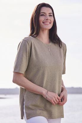Short Sleeve Vented Tunic