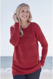 Alpaca Tuck Stitch Tunic