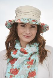 Floral Cotton Hat