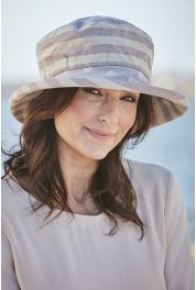 Linen Hats Spots & Stripes