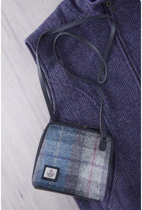 Harris Tweed Zip Bag