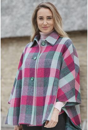 Harris Tweed Cape