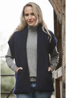 Mohair Pocket Gilet