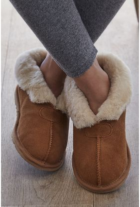 Ladies Sheepskin Slippers