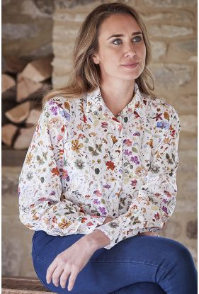 Floral Eve Liberty Print Shirt