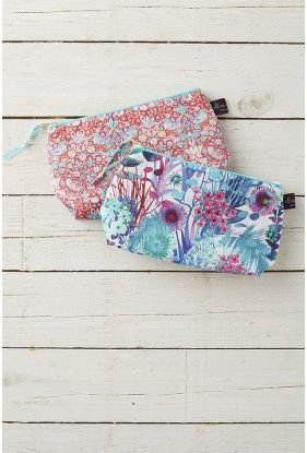 Liberty Print Cosmetic Bag