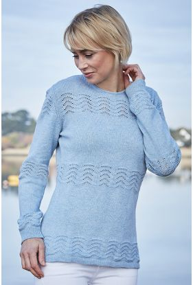 Yashino Lace Stitch Sweater