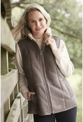 Luxury Sheepskin Gilet