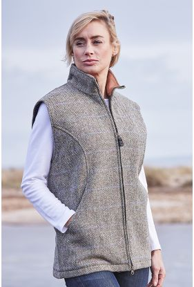 Harris Tweed Gilet